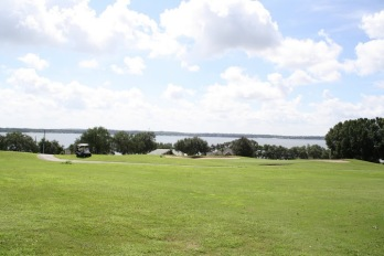 Lake Minneola from Palisades Country Club in Clermont, FL